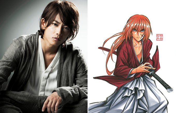 "picture of ""Rurouni Kenshin"" Sequel Announced: Takeru Satoh Takes on Tatsuya Fujiwara in Kyoto Arc! 1"
