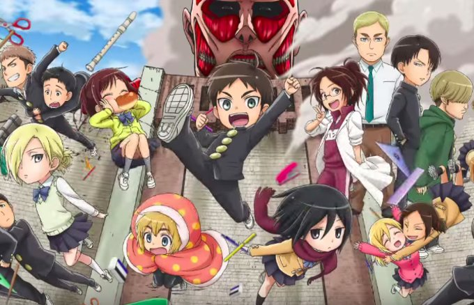 2015 Fall Anime Trailer Collection Part 2: School Life