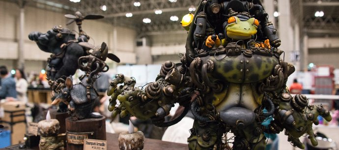 picture of WonFes Wows with Lineup of Myriad Life-Size Figures!