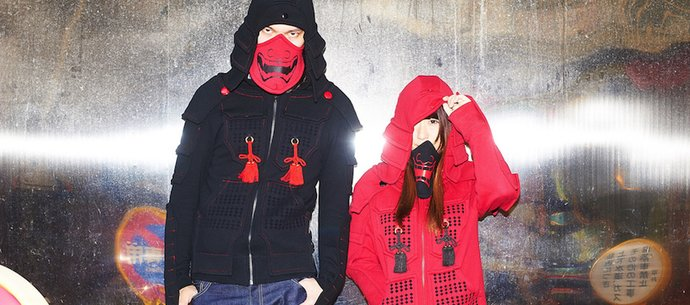 The Samurai Armor Hoodies Project on Indiegogo Supported by Tokyo Otaku Mode is Open Now!