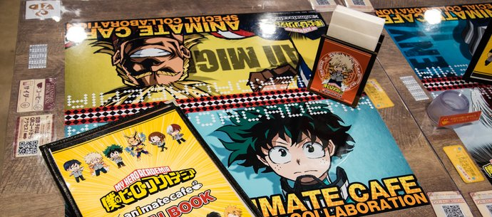 [Event Report] My Hero Academia x animate Cafe Opens in Ikebukuro!