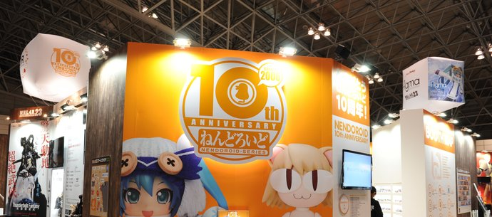 picture of WonHobby Booth Report! 24-Hour Double Giveaway Commemorating Nendoroid 10th Anniversary & WonHobby Begins!