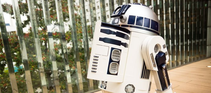 picture of Where's C-3PO?! R2-D2™ Moving Refrigerator on Display at Daikanyama Tsutaya