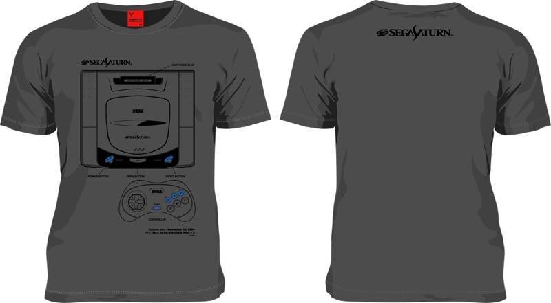 b6ec8e42ceb9 174th Single Sega Saturn T-Shirt 3. US 44.99