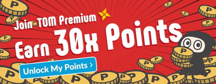 TOM Premium Exclusive! 30X TOM Points Event!
