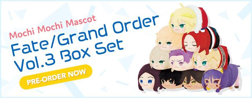 Mochi Mochi Mascot Fate Grand Order Vol.3 Box Set