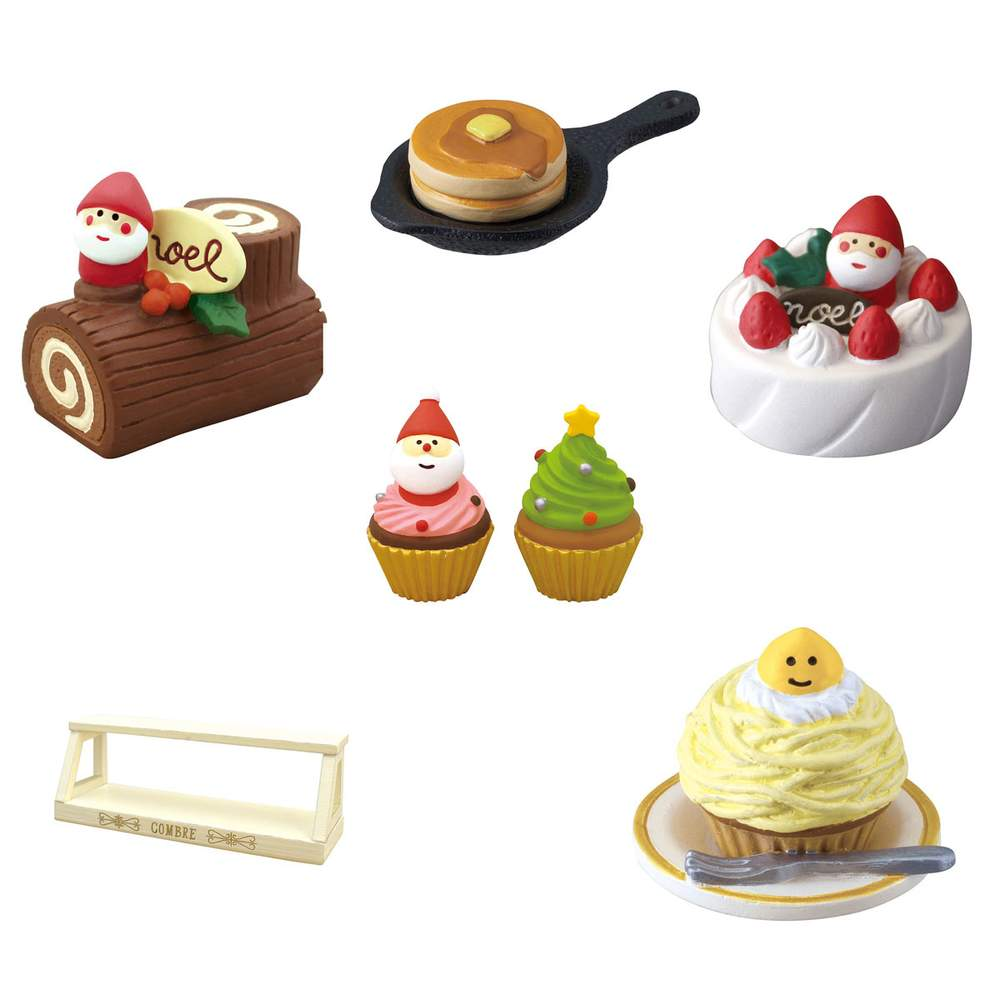 Christmas Sweets.Concombre Christmas Sweets Diorama Collection
