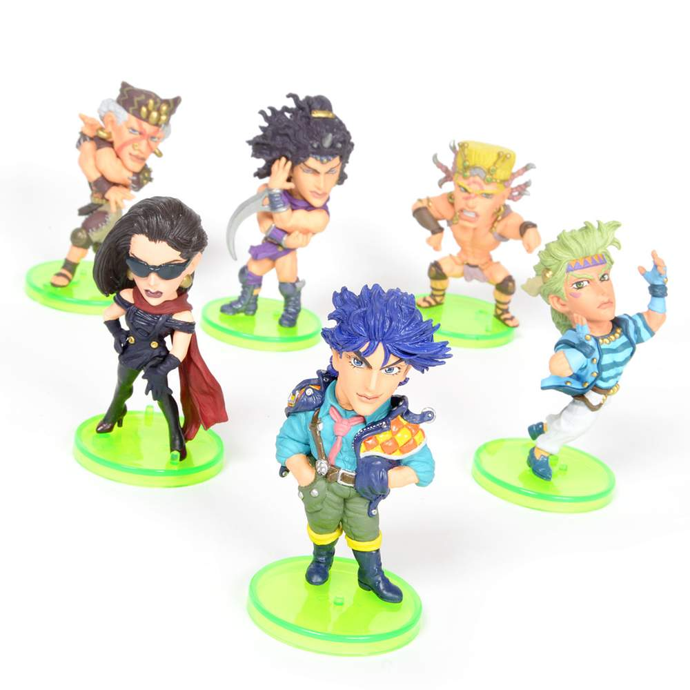 JoJo's Bizarre Adventure: Battle Tendency World Collectible Figure Vol  4