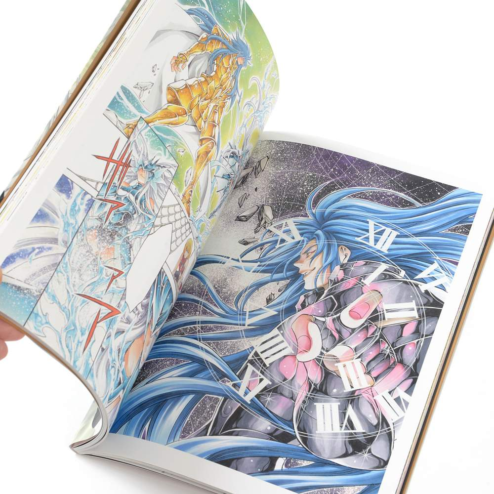 Saint Seiya: The Lost Canvas Illustrations