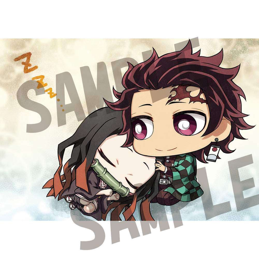 Chimi Mega Buddy Series Demon Slayer Kimetsu No Yaiba Tanjiro Kamado Nezuko