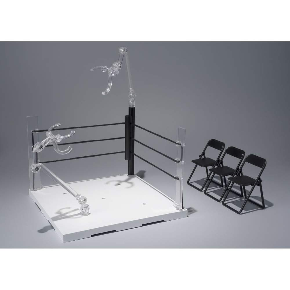 Amazing Tamashii Stage Act Ring Corner Neutral Corner Folding Chair Set Ibusinesslaw Wood Chair Design Ideas Ibusinesslaworg