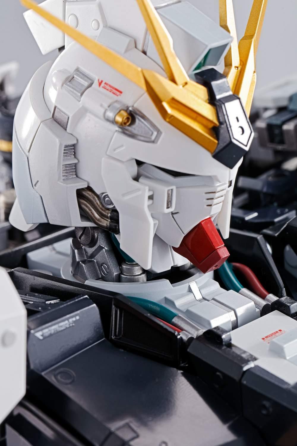 FORMANIA EX RX-93 Nu V Gundam diecast bust figure Bandai U.S seller