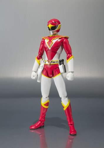BANDAI TAMASHII NATIONS S.H.Figuarts Chojin Sentai Jetman RED HAWK Action Figure