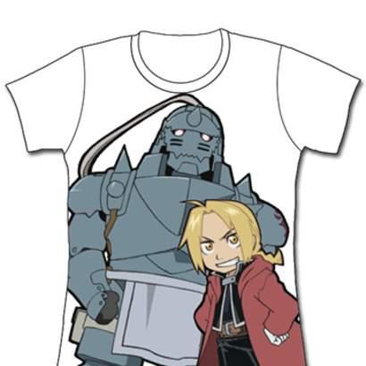 Chibi Alphonse Fullmetal Alchemist womens T-shirt