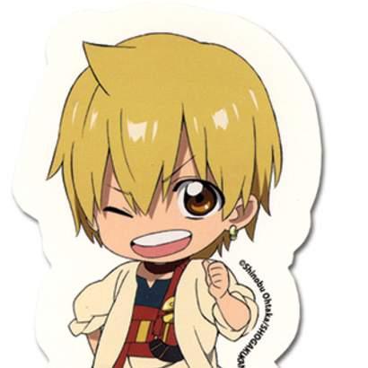 Magi Chibi Character Stickers: TOM Anime Figures & Merch Shop