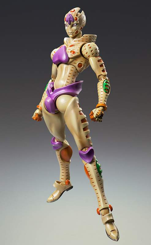 JoJo's Bizarre Adventure Super Action Statue Part V No  64 - Gold  Experience Requiem