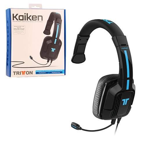 Tritton Kaiken Mono Wired Chat Headset (PS4/PS Vita)
