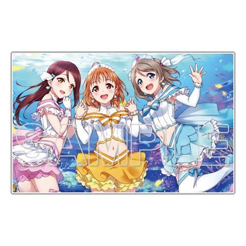 Love Live! General Magazine Vol  1: Love Live! Sunshine!! Acrylic Plate  Collection