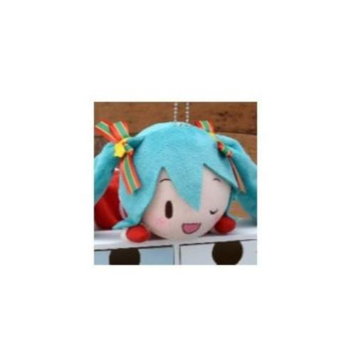 Hatsune Miku Christmas Outfit.Lying Down Plush Hatsune Miku Christmas 2019