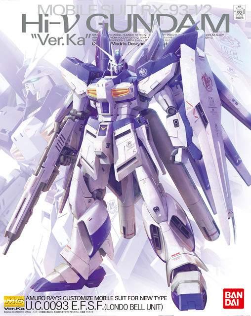 Hi-Nu Gundam Ver  Ka 1/100th Scale Plastic Model Kit