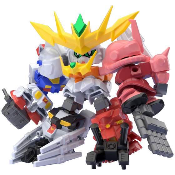 Mini Pla Gundam Build Divers Super Shock Gundam