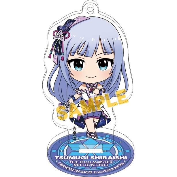 The Idolm@ster Million Live! Acrylic Keychains w/ Display Stands