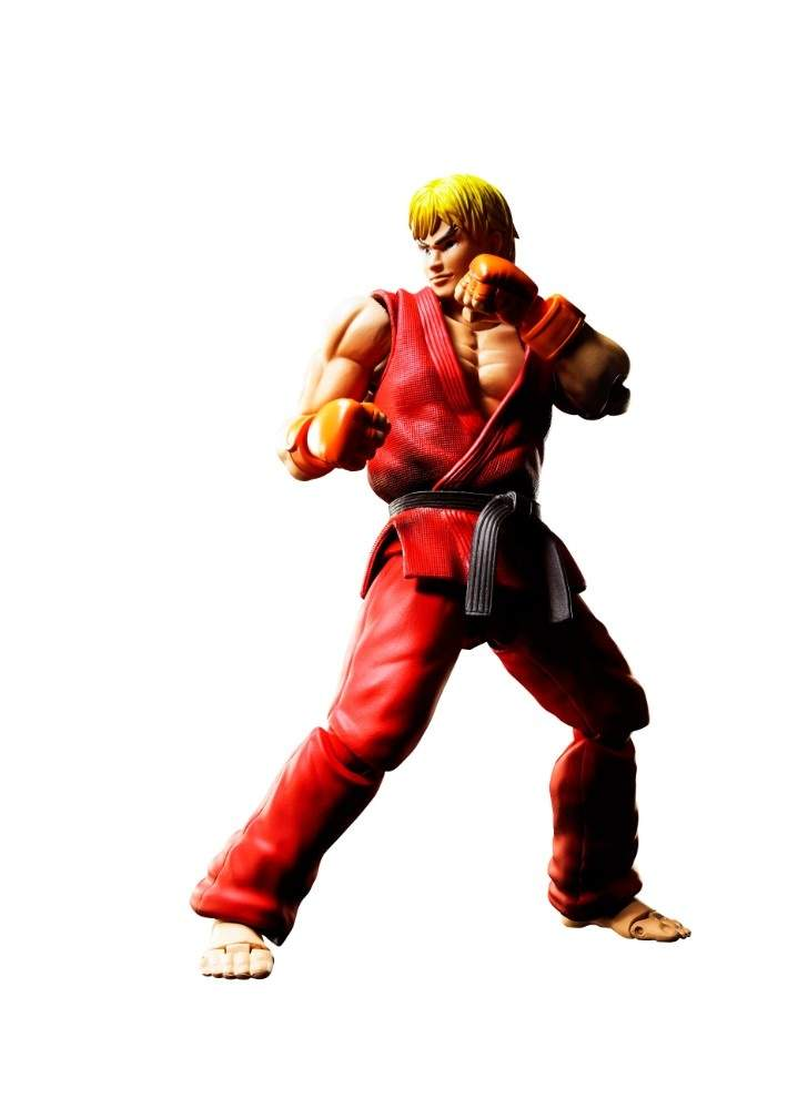 S H Figuarts Street Fighter IV Ken Masters
