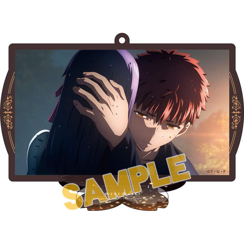 Fate/stay night: Heaven's Feel Acrylic Keychain w/ Display Stand Collection