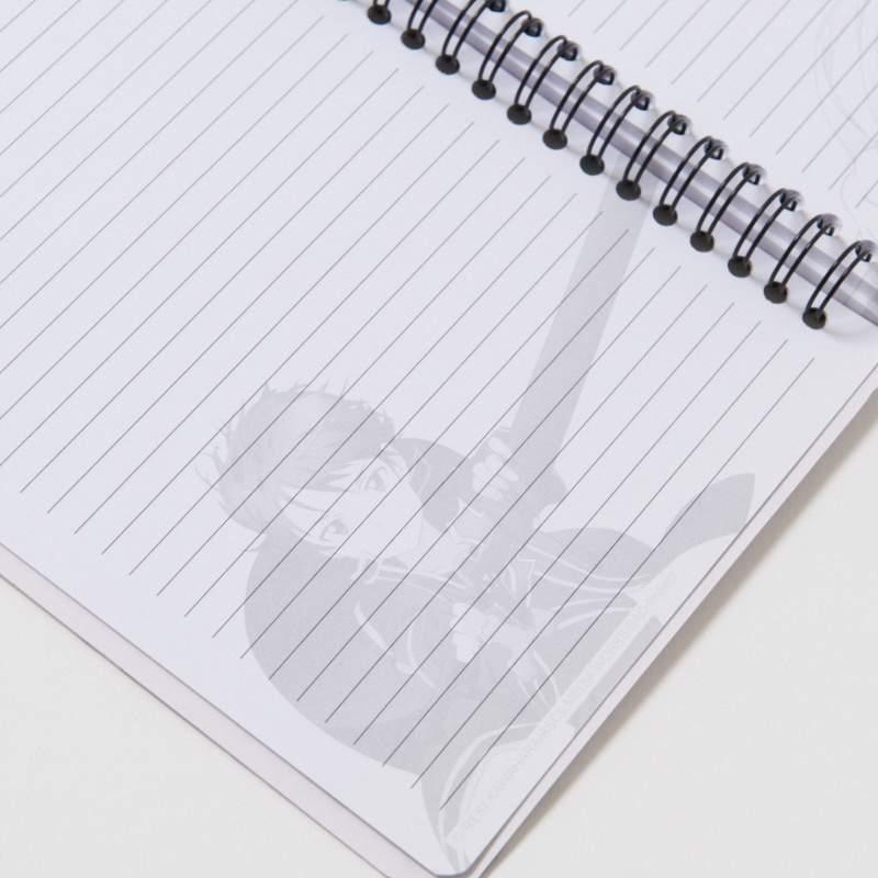 Sword Art Online Asuna & Kirito Spiral-Bound Notebook