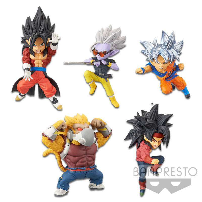 Goku Ultra Instinct WCF Banpresto Dragon Ball World Collection Figure Vol.5