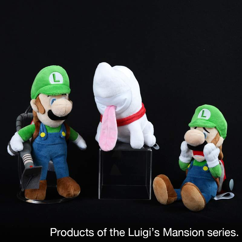 Polterpup Plush Luigi S Mansion Dark Moon