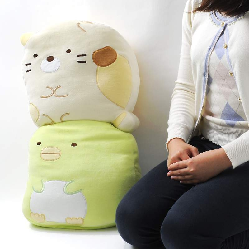 Cool Sumikko Gurashi Mo Chi Mochi Cushions Large Ocoug Best Dining Table And Chair Ideas Images Ocougorg