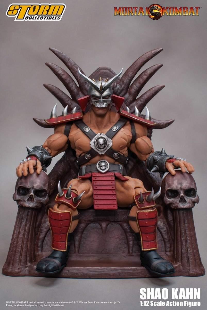 Storm Collectibles Mortal Kombat Shao Kahn