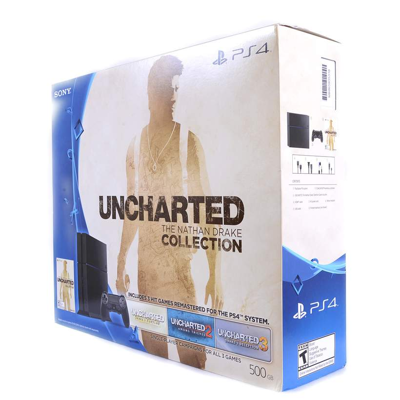 Playstation 4 Uncharted The Nathan Drake Collection 500gb Bundle