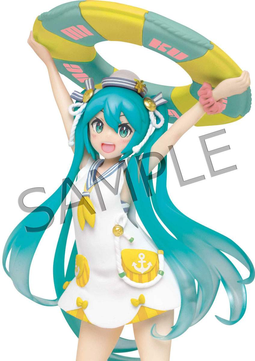 Hatsune Miku Christmas Outfit.Hatsune Miku Original Summer Dress Ver Renewal Non Scale Figure