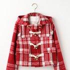 LIZ LISA Checkered Short Duffle Coat