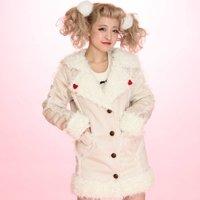 Swankiss Sailor Mouton Coat