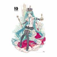 Hatsune Miku 10th Anniversary Blanket