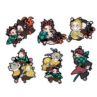 Buddy Colle Demon Slayer: Kimetsu no Yaiba Rubber Mascot Box Set