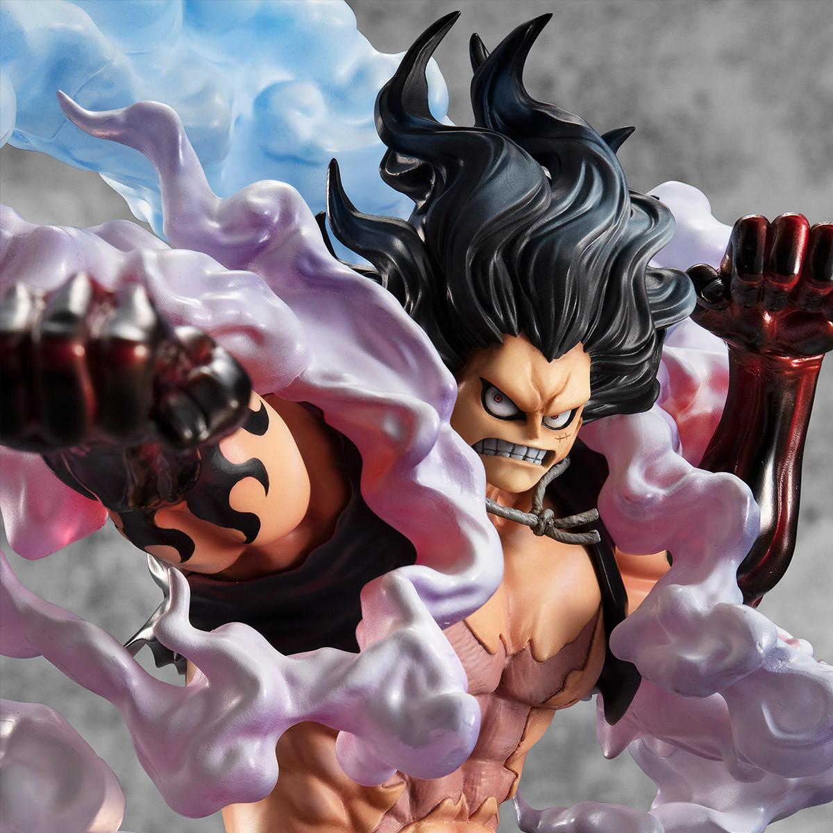 Portrait of Pirates One Piece SA-Maximum Monkey D  Luffy Gear 4th Snakeman