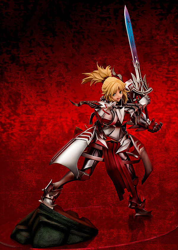 Fate Apocrypha Saber Of Red Mordred 1 8 Scale Figure