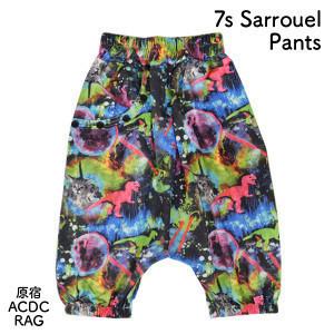 424d89284d ACDC RAG Space Cat   Dinosaur 3 4 Sarouel Pants 1