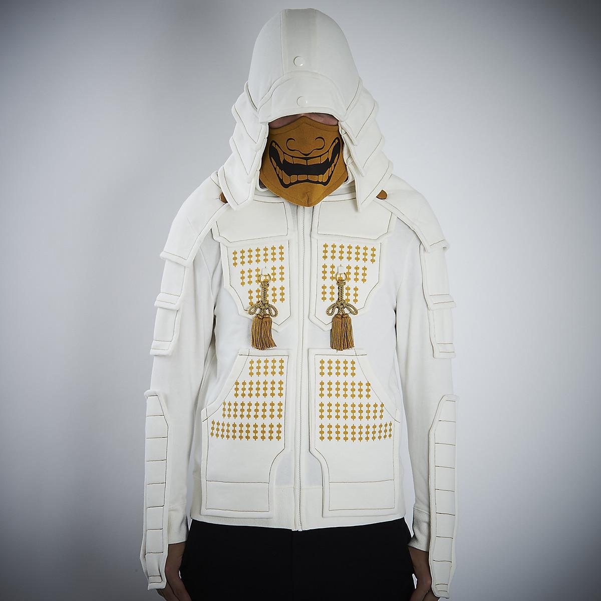 Samurai Armor Hoodie Set <white> Tokyo Otaku Mode Shop