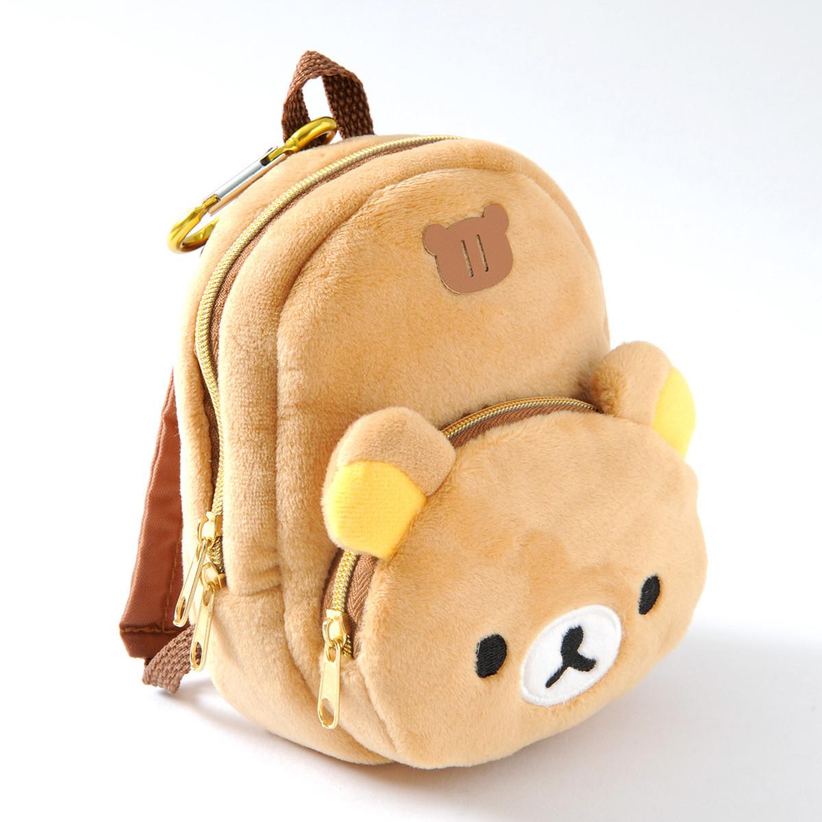 Rilakkuma Fuwaraku Plush Backpack Tokyo Otaku Mode Shop