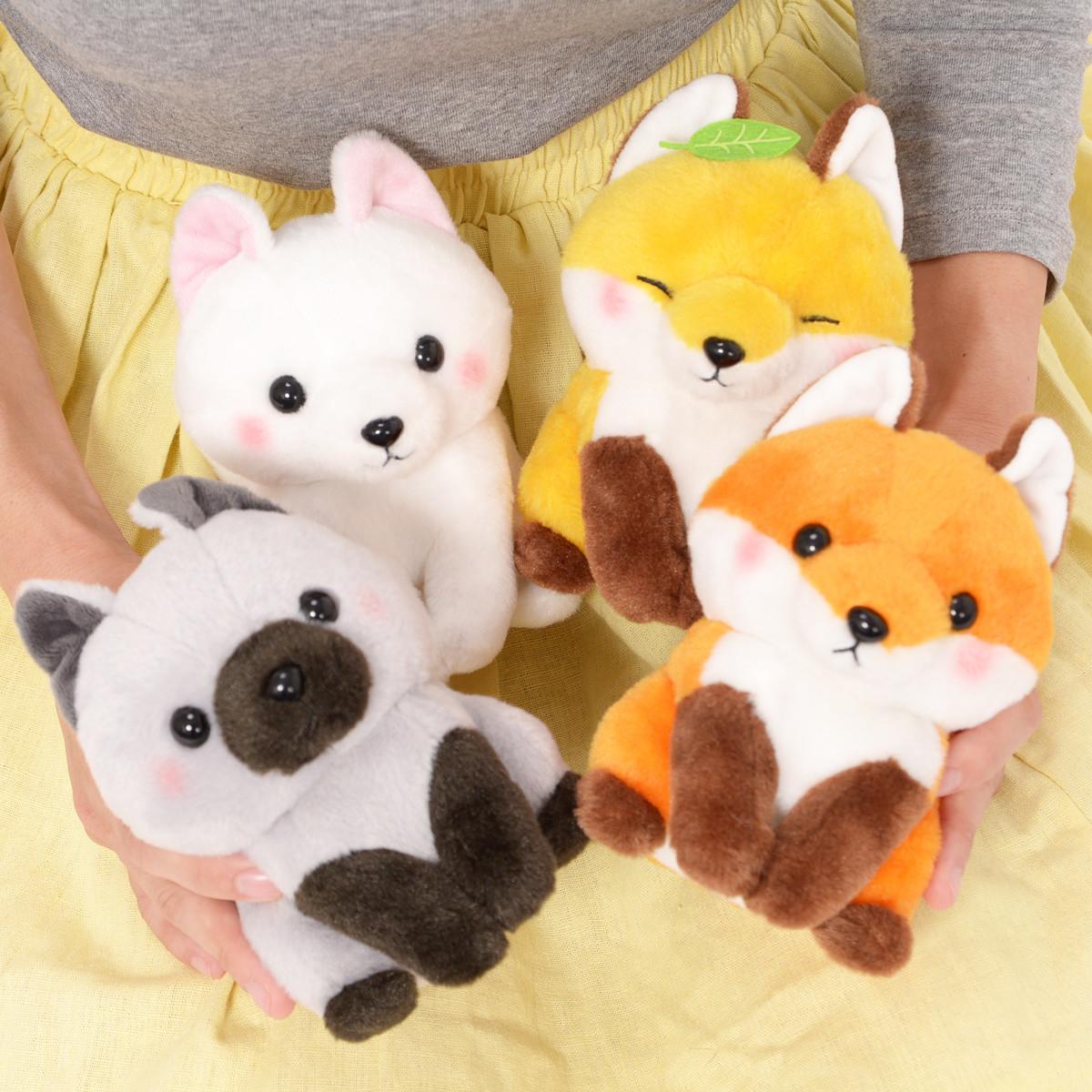 Kogitsune Konkon Fox Plush Collection Standard Tokyo
