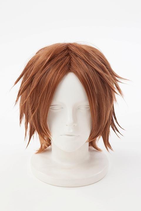 The Animation Yosuke Hanamura Cosplay Hair Brown Styled Cosplay Wig A Persona 4