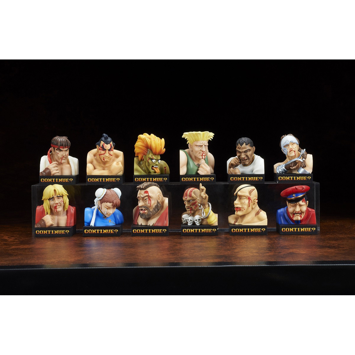 Street Fighter Ii Losing Face Figure Collection Tokyo