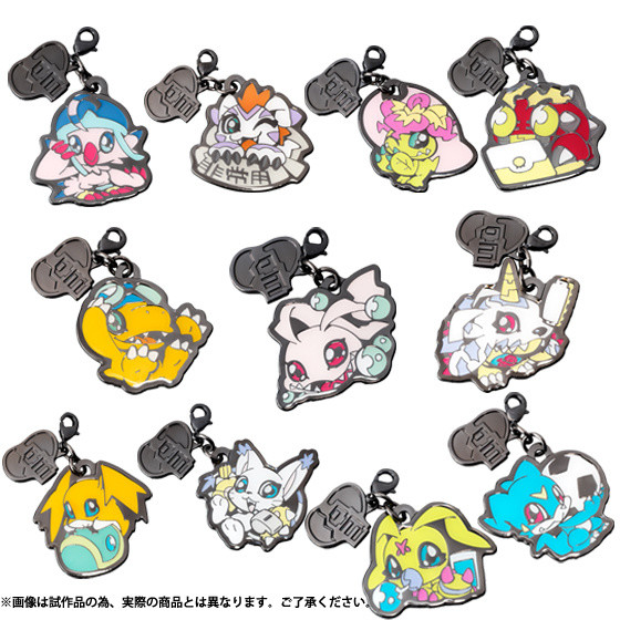 Metallic Charm Collection Digimon Adventure We Are Friends
