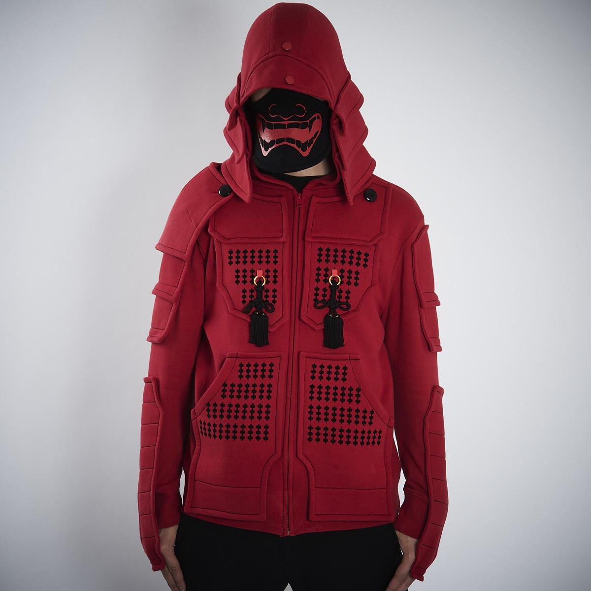 Samurai Armor Hoodie Set <red> Tokyo Otaku Mode Shop
