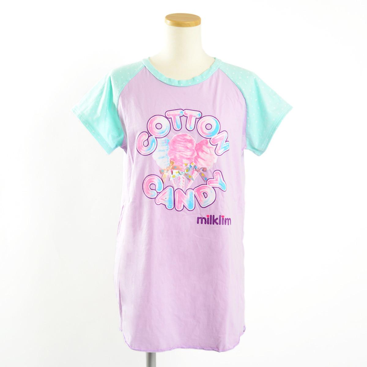 Milklim Cotton Candy Long T Shirt Tokyo Otaku Mode Shop